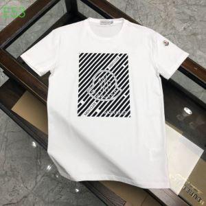 モンクレールシンプルなファッション 3色可選  MONCLER  2020モデル 半袖Tシャツストリート感あふれ-3