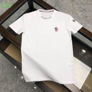多色可選 普段使いにも最適なアイテム 半袖Tシャツ 人気の高いブランド モンクレール MONCLER-3