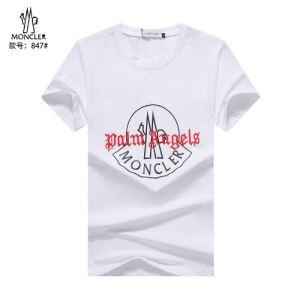 累積売上総額第1位 2色可選 モンクレール MONCLER 20SS☆送料込 半袖Tシャツ 普段のファッション-3