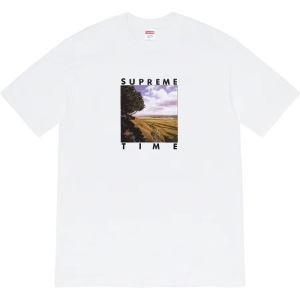 シュプリーム 肌の色を綺麗に見せる 多色可選 SUPREME 洗練された雰囲気と清潔感を漂わせる 半袖Tシャツ、-3