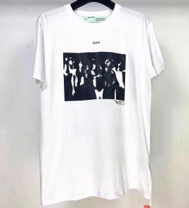 Off-White 通勤通学どちらでも使え オフホワイト 2色可選 限定アイテムが登場 半袖Tシャツ-3