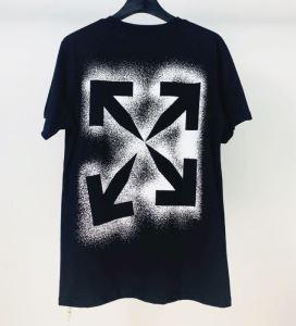 オフホワイト 20SS☆送料込 2色可選 Off-White  普段のファッション 半袖Tシャツ 破格値-3