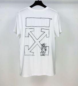 半袖Tシャツ 2色可選 最もオススメ Off-White 人気が継続中 オフホワイト  海外でも大人気-3
