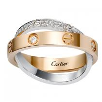 LOVE RING, DIAMOND-PAVEDB4094600​