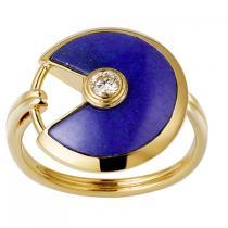 AMULETTE DE cartier スーパー コピー RING, SMALL MODELB4213700-1