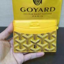 【GOYARD】ゴヤールミニポーチ/カードケース/コインケースABUSENATMINI06/SENAT MINI NOIR-1