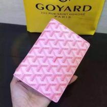ゴヤール パスケース pink×pink×白 GOYARD【20190709】-1