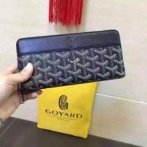 ゴヤール(GOYARD) ラウンドファスナー長財布(黒い   )APMZIPGM29-VERTE-VERT-1