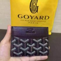 【GOYARD】ゴヤールミニポーチ/カードケース/コインケースABUSENATMINI09/SENAT MINI NOIR-1
