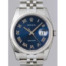 ロレックススーパーコピー ROLEX パーペチュアル デイトジャスト メンズ 116234 ブルーコンピュターローマ-1