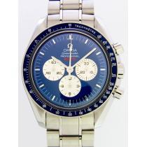 オメガスーパーコピー OMEGA スピードマスター 3565.80 プロフェッショナル ファーストスペースウォーク 宇宙遊泳40周年記念モデル 世界限定2005本 ブルー-1