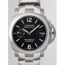 パネライスーパーコピー  ルミノールマリーナ PAM00333 40mm ブラック-1