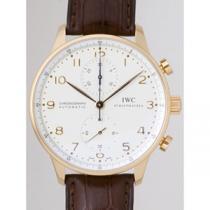 IWC インターナショナルウォッチカンパニー ポルトギーゼ zIW371402 クロノグラフ ホワイト-1