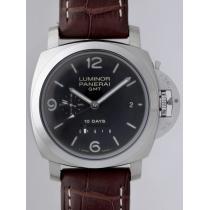 パネライスーパーコピー  ルミノール1950 10DAYS GMT PAM00270 44mm ブラック-1