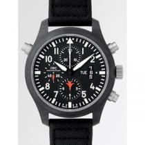 IWC インターナショナルウォッチカンパニー パイロットウォッチ zIW379901 ダブルクロノ トップガン ブラック-1