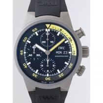 IWC インターナショナルウォッチカンパニー アクアタイマー zIW371918 クロノグラフ ラバー ブラック-1