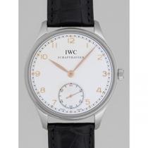 IWC インターナショナルウォッチカンパニー ポルトギーゼ zIW545408 ハンドワインド シルバー-1
