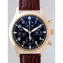 IWC インターナショナルウォッチカンパニー パイロットウォッチ zIW371713 クロノ・オートマティック RG ブラック-1