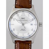 IWC インターナショナルウォッチカンパニー スピットファイヤー zIW325502 マークXVI ブラウン革 シルバー-1