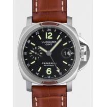 パネライスーパーコピー  ルミノール GMT PAM00244 40mm ブラック-1