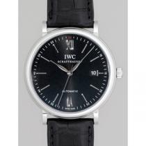 IWC インターナショナルウォッチカンパニー ポートフィノ オートマティック IW356502 ブラック革 ブラック-1