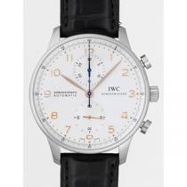 IWC インターナショナルウォッチカンパニー ポルトギーゼ IW371445 クロノグラフ シルバー-1