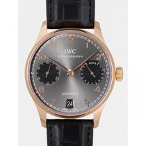 IWC インターナショナルウォッチカンパニー ポルトギーゼ zIW500125 7DAYS 辰年 世界限定888本 グレー/ブラック-1