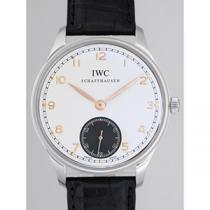 IWC インターナショナルウォッチカンパニー ポルトギーゼ zIW545405 ハンドワインド シルバー/グレー-1