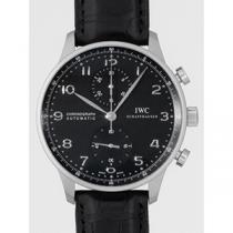 IWC インターナショナルウォッチカンパニー ポルトギーゼ IW371447 クロノグラフ ブラック-1