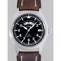 IWC インターナショナルウォッチカンパニー パイロットウォッチ zIW325101 フリーガーUTC ブラック-1
