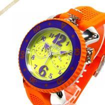 Gaga Milano コピー ガガミラノ コピー メンズ腕時計 クロノスポーツ CHRONO SPORTS 46mm イエロー×オレンジ gaga MpqcyKsc-1