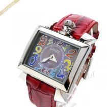 Gaga Milano スーパーコピー ガガミラノ  腕時計 ナポレオーネ NAPOLEONE スクエア ブラックパール×レッド gaga NlhcYASD-1