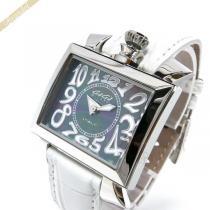 Gaga Milano スーパーコピー ガガミラノ スーパーコピー 腕時計 ナポレオーネ NAPOLEONE スクエア ホワイト gaga Xb0c9WKY-1
