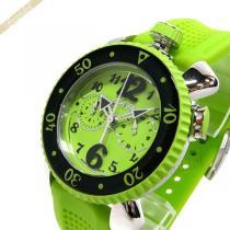 Gaga Milano スーパー コピー ガガミラノ コピー メンズ腕時計 クロノスポーツ CHRONO SPORTS 46mm ライトグリーン gaga URCV3xlS-1