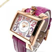 Gaga Milano スーパー コピー ガガミラノ スーパーコピー 腕時計 ナポレオーネ 18K PVC NAPOLEONE スクエア ピンク gaga kGXoZPSS-1