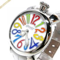 Gaga Milano スーパーコピー ガガミラノ スーパー コピー 腕時計 マヌアーレ MANUALE 40mm ホワイト gaga IDaWltaf-1
