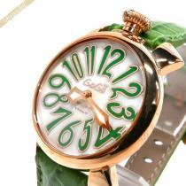 Gaga Milano スーパー コピー ガガミラノ  腕時計 マヌアーレ MANUALE 40mm ホワイト×グリーン gaga XGczKtuf-1