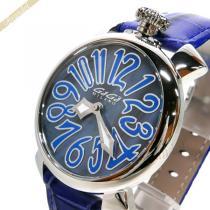 Gaga Milano スーパーコピー ガガミラノ スーパーコピー 腕時計 マヌアーレ MANUALE 40mm ブルー gaga WuapxaP2-1