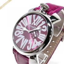 Gaga Milano スーパー コピー ガガミラノ  腕時計 マヌアーレスリム MANUALE SLIM 46mm ピンク gaga ywRyQT76-1
