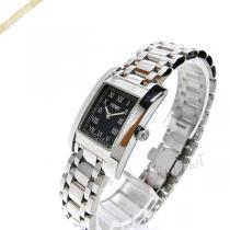 FENDI  フェンディ  レディース腕時計 クラシコ レクタングル ブラック×シルバー FENDI UeROzUGq-1