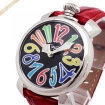 Gaga Milano スーパーコピー ガガミラノ コピー 腕時計 マヌアーレ MANUALE 40mm レッド gaga qVf26kTb-1