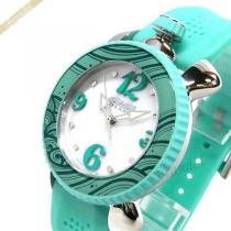 Gaga Milano スーパー コピー ガガミラノ スーパー コピー レディース腕時計 LADY SPORTS 39mm ホワイトパール×ライトグリーン gaga lFAWOzZB-1