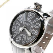 Gaga Milano コピー ガガミラノ スーパーコピー 腕時計 マヌアーレ MANUALE 40mm グレー×ホワイト gaga zEYp3Pfd-1