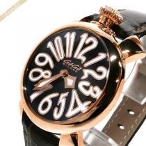 Gaga Milano スーパー コピー ガガミラノ コピー 腕時計 マヌアーレ MANUALE 40mm ブラウン gaga 9jFhD73K-1