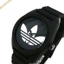 adidas スーパー コピー アディダス コピー 腕時計 アディダス コピーオリジナルス SANTIAGO サンティアゴ 42mm ブラック×ホワイト adidas tsAX1kq5-1