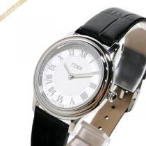 FENDI  フェンディ スーパー コピー レディース腕時計 ラウンド クラシコ 32mm ホワイト×ブラック FENDI SJmxlFp8-1