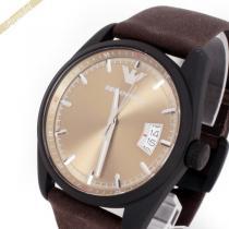 EMPORIO ARMANI コピー エンポリオアルマーニ スーパーコピー メンズ 腕時計 Sportivo 42mm ゴールド×ブラウン ARMANI 48yurS2e-1