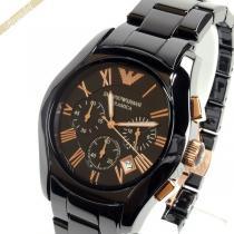 EMPORIO ARMANI スーパー コピー エンポリオアルマーニ スーパーコピー メンズ腕時計 セラミック クロノグラフ 42mm ブラック ARMANI jkVmrSME-1