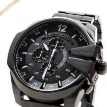DIESEL スーパーコピー ディーゼル コピー メンズ腕時計 Mega Chief メガチーフ クロノグラフ 52mm ブラック DIESEL tgt5zDTX-1