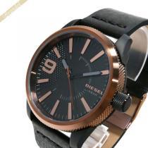 DIESEL スーパーコピー ディーゼル  メンズ腕時計 Rasp ラスプ 46mm ブラック×ブロンズ DIESEL QF9H5e0Y-1